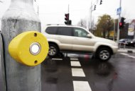 Traffic control systems at Minsk crossroads