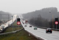 Variable message traffic signs for regional roads in Lithuania