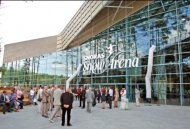 Security solutions for a snow arena in Druskininkai